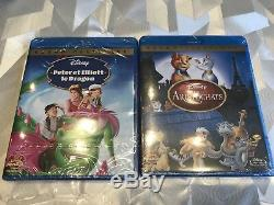 Lot Of 10 Blu-ray Disney New Blister Pack