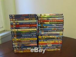 Lot Of 40 DVD Disney Including 29 Numbered And 2 Blistered