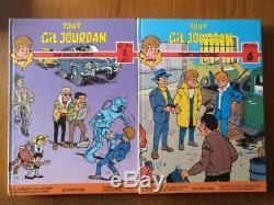 Lot Of 6 Integrals All Gil Jourdan In Eo Tbe rare