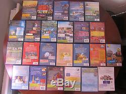 Lot Of 62 DVD Disney Including 54 Numbers And 1 Under Blister