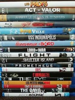 Lot Of 70 Various Blu-ray
