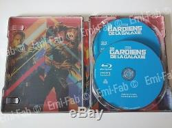 Lot Steelbook The Guardians Of The Galaxy Vol 1 And Vol 2 Edition Fnac