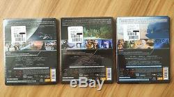 Lot Trilogy Star Wars Episode IV V VI Steelbook En (new)