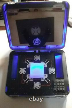 Mallette Tesseract Marvel Cinematic Universe Phase One Avengers Blu-ray