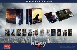 Man Of Steel Hdzeta Steelbook, Lenticular Boxset, 4k + 3d + 2d Blu-ray