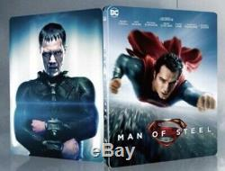 Man Of Steel Hdzeta Steelbook, Lenticular Boxset, 4k + 3d + 2d Blu-ray, Preorder