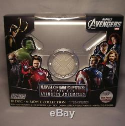Marvel Cinematic Universe Phase One Avengers Assembled 10 Blu-ray Import Us Vf