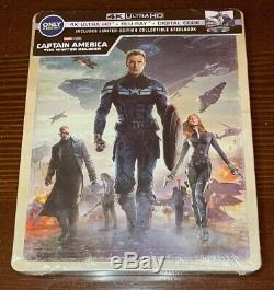 New Captain Trilogy Marvel Best Buy Exclusive 4k Blu-ray Steelbook