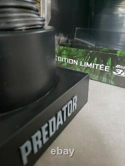New Predator Bust Head With Blu Ray 3d DVD Limited Edition Collector