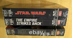 New Vintage Star Wars (new Hope) Sealed USA 1984 Cbs Fox Red Label Vhs Video