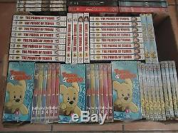 Nine Lot 82 Sets 222 DVD Manga Japanimation Dealer Secondhand Store