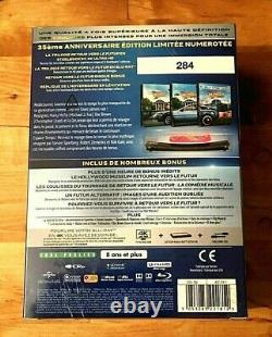 Nine-set Trilogy Back To The Future 4k Steelbook Edition #ckdb