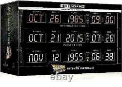 Nine-set Trilogy Back To The Future 4k Steelbook Time Circuits