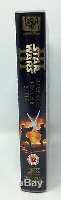 Original Star Wars Revenge Of The Sith 2005 Uk Vhs Video / DVD & No No Blu-ray