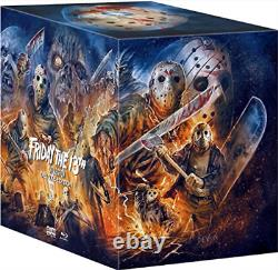 Pb Gift Set-friday The 13th Collection Deluxe Edition (blu-ray) Blu-ray Neuf