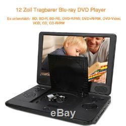Portable Blu Ray Car DVD Player 12 Blu-ray Full Hd 1080p Hdmi Dolby Disc
