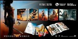 Pre-order Steelbook Blufans Be58 Wonder Woman Double Lenticular New