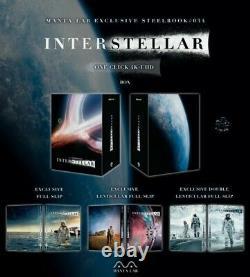 Pre-order Steelbook Manta Lab Me34 Interstellar One Click New /new
