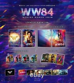 Pre-order Wonder Woman 1984 One Click Boxset 3x Fullslip Manta Lab Nine