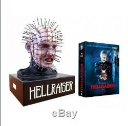 Premium Edition Hellraiser Pinhead Bust Trilogy No Steelbook Blu Ray Bust