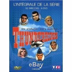 Rare Complete DVD Box 9 Thunderbirds DVD Tbe