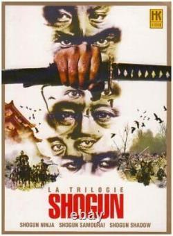 Rare DVD Box Set The Trilogy Shogun Sonny Chiba Tbe Vf