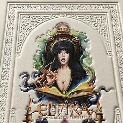 Rare Elvira Mistress Dark 1988 Blu-ray DVD Bluray Mediabook Leatherbook Sideshow