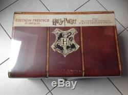 Rare Harry Potter New Prestige Edition Books + Wand DVD Collection Bluray