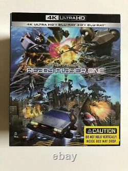 Ready Player One 4k Ultra Hd One Click Manta Lab Steelbook Mint - Sealed New