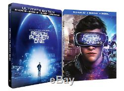 Ready Player One Bluray Exclusive French Box Set 3d DVD Steelbook Ultra 4k