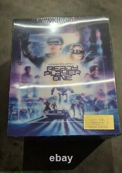 Ready Player One Bluray Steelbook Hdzeta Exclusive One-click Boxset Neuf