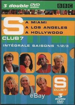 S Club 7. Integrated Season 1,2 And 3. In Miami / A Los Angels / A Hollywood
