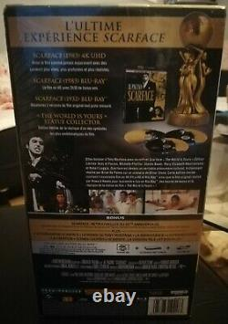 Scarface Limited Edition Box The World Is Yours 4k Blu-ray Collector New
