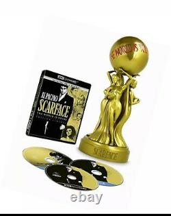 Scarface The World Is Yours 4k Ultra Hd - 1932 Version - Statuette Collector