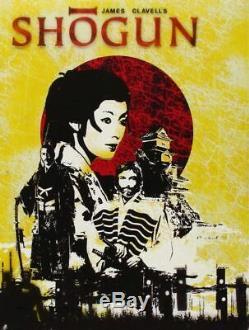 Shogun- The Complete Series DVD Box New Richard Chamberlain / Cello