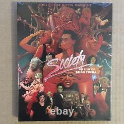 Society Brian Yuzna Blu-ray Edition Limited To 1000 Copies Nine Under Blister