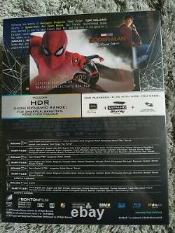 Spiderman Far From Home Lenticular Fullslip Steelbook Edition Filmarena New