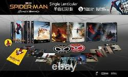 Spiderman Homecoming Blufans Steelbook Exclusive #56 Single Lenticular Br 4k-3d