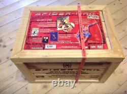 Spiderman (spider-man) Limited Edition Wooden DVD Set 5000 Ex New Sealed
