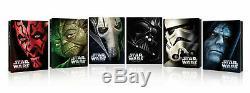 Star Wars 1 To 6 Limited Edition Steelbook Case