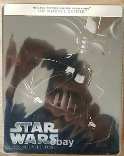 Star Wars Blu Ray Steelbook. Episode 1 To 6. French Edition