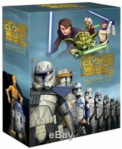 Star Wars DVD The Clone Wars The Complete Seasons 1-5 Collecto Edition