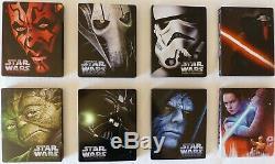 Star Wars Full Steelbook Blu Ray French Version