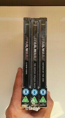 Star Wars Trilogy 4k Steelbook Zavvi