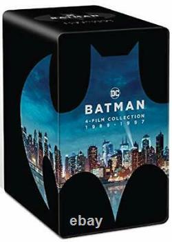 Steelbook Batman 4 Films Collection 1989-1997 4k Ultra Hd - Blu-ray New