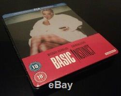 Steelbook Blu Ray Basic New Instinct // Audio Fr // Limited Edition Zavvi
