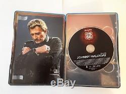 Steelbook Blu-ray + DVD Johnny Hallyday Stade De France 2009 Tour66