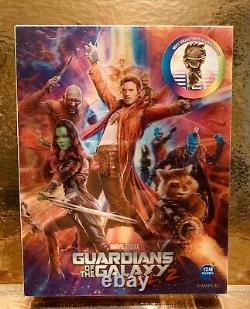 Steelbook Blu-ray Guardians Of The Galaxy 2 Full Slip Weet- Marvel