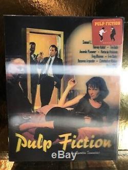Steelbook Blu-ray Pulp Fiction Lenticular Nova