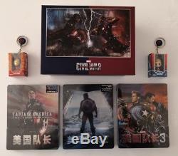 Steelbook Blufans 1/4 Captain America Slip